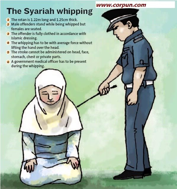 syariah whipping 5-3-2010  islam is about justice and equality, not whipping  in a situation where the issue of whipping of muslim women under syariah law is still being debated.
