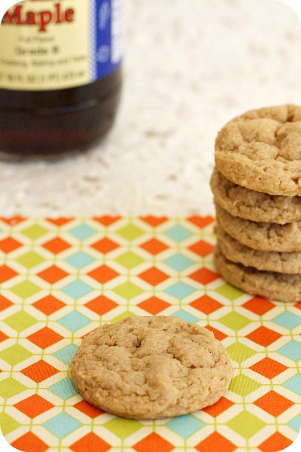 soft and chewy maple cookies | Cookies | Pinterest