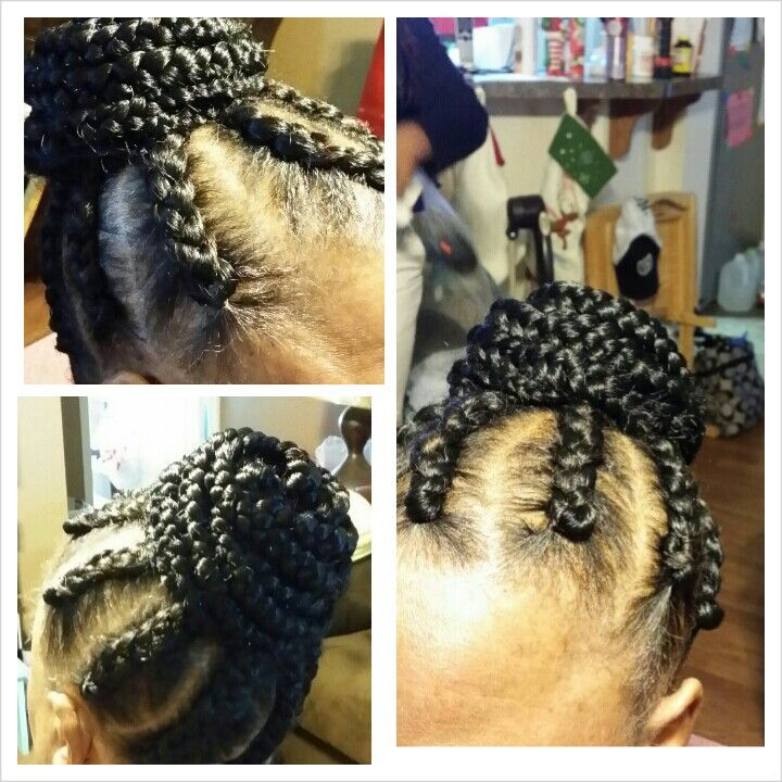 Goddess Braids | cornrows | Pinterest
