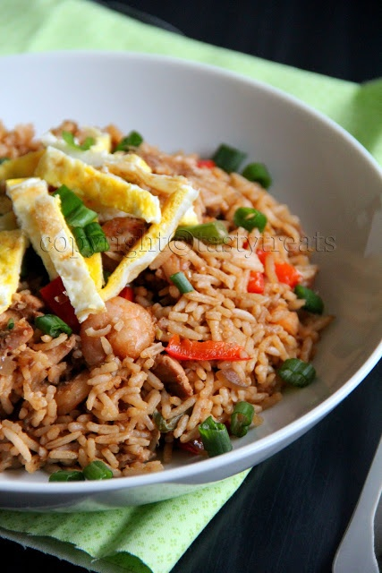 Indonesian Food - Nasi Goreng - Indonesian comfort food. # ...