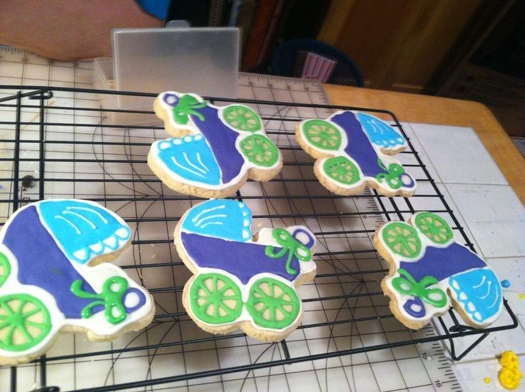 Baby Shower Cookies!