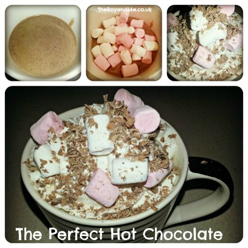 The perfect hot chocolate | Cool Family Stuff | Pinterest