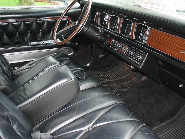 1969 lincoln mark iii interior retro cars pinterest. Black Bedroom Furniture Sets. Home Design Ideas