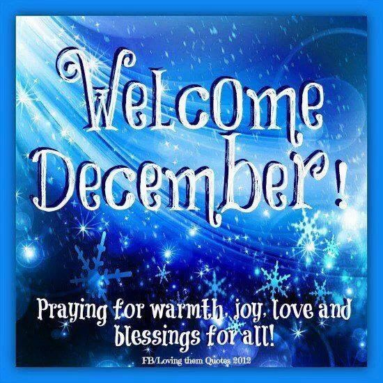 Image result for Welcome December Quotes