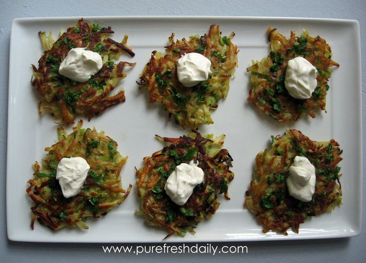 Sweet Potato Latkes (gluten free) | Side Dishes | Pinterest