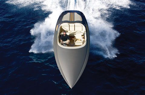 Porsche Design Fearless Yacht. Spaceship on the water!    http://www.hauteliving.com/2008/03/porsche-on-the-water/#