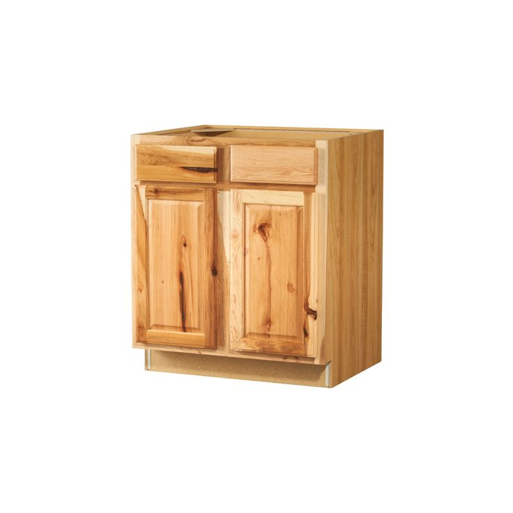 kitchen classics 30 in denver hickory sink base cabinet item 88992