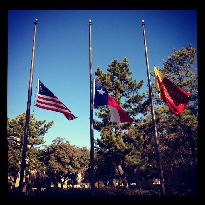 flags at half mast december 7