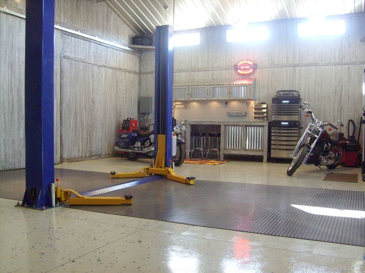 Auto body shops including auto repair shops by u s metal buildings garage floor pinterest - Shops and garages design ...