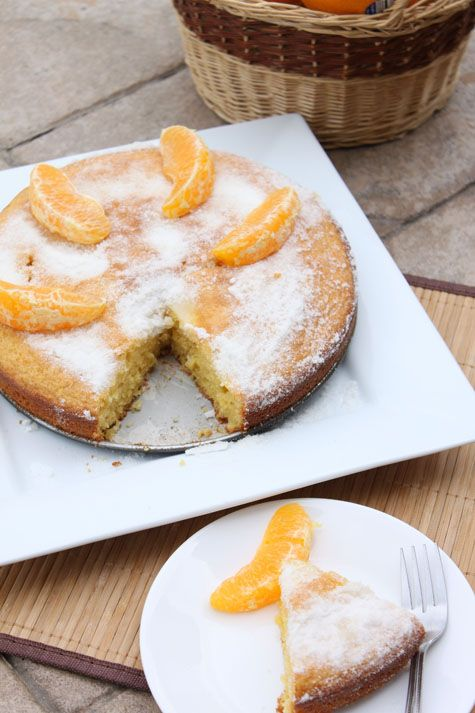 orange cornmeal cake | Recipes I want to try out! | Pinterest
