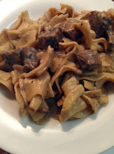 Portobello Mushroom Stroganoff | Vegies | Pinterest