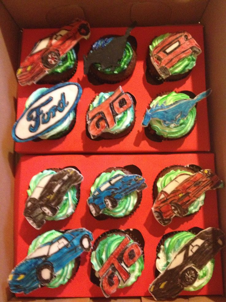 Ford Mustang And Gto Cupcakes Cupcakes Cookies I Have