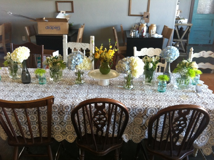 With Varying Vases From Ikea And Flowers From Tom Thumb And Kroger