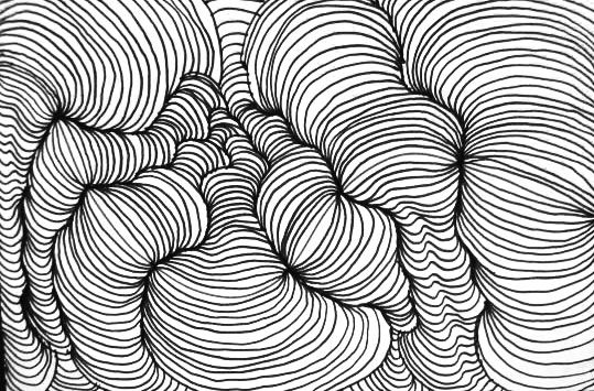 Line Designs In Art : Cross contour lines line a v arts pinterest