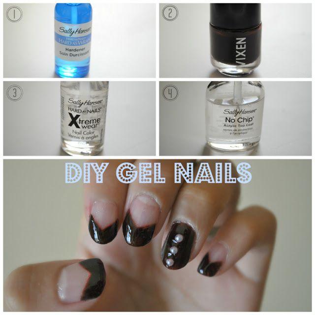 DIY Gel Manicure | Inspiration Beauty | Pinterest