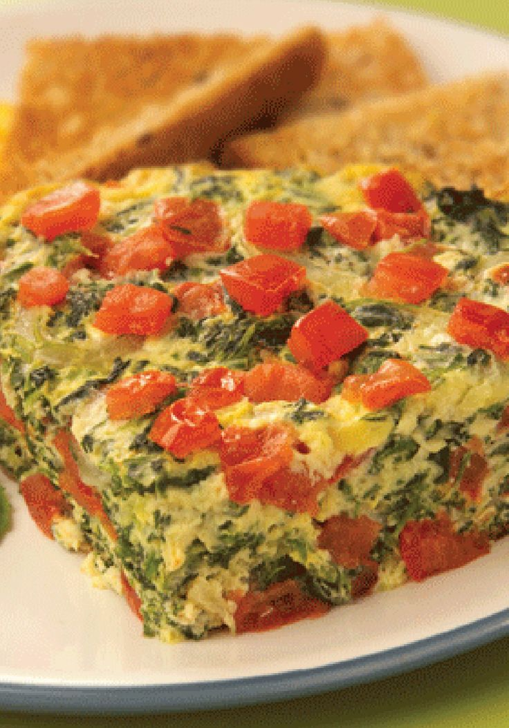 This Quick Vegetable Frittata is a colorful and easy to make dish ...
