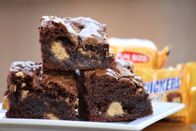 Brandy's Baking: Candy Bar Brownies | Cakes,Pies and goodies | Pinter ...