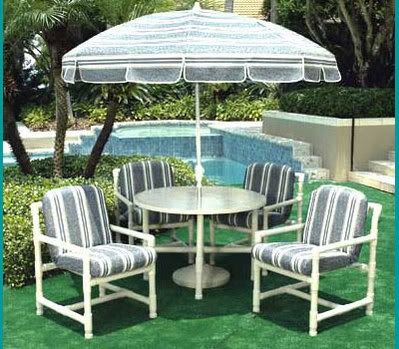 Pvc Pipe Outdoor Furniture Pvc Pipe Projects Pinterest