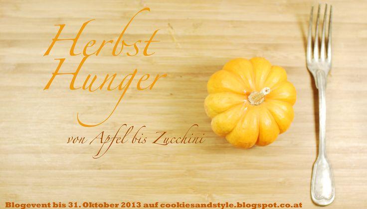 Blogevent Herbst Hunger - von Apfel bis Zucchini