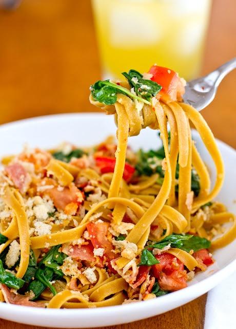 BLT Pasta | Dinner's Ready | Pinterest