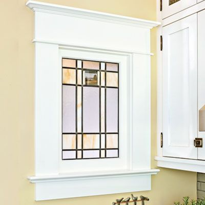 Craftsman window casing molding a a cottage pinterest for Cottage style interior trim