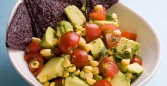 Avocado & Corn Salsa   KitchenDaily.com