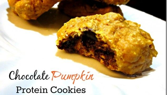 Chocolate Pumpkin Protein Cookies | Short And Healthy Recipes | Pinte ...