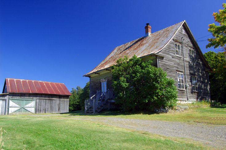 La vieille maison de campagne maison rurales traditionnelles qu b c - Maison de la campagne ...