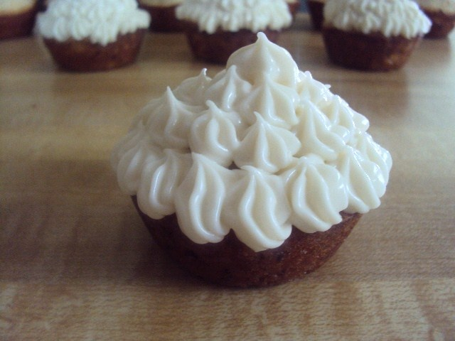 Zucchini Cupcakes with Cream Cheese Frosting!