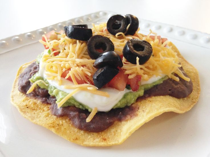 Seven-Layer Tostadas Recipes — Dishmaps