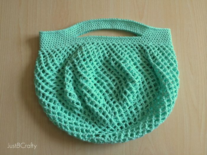 Grocery Bag Crochet : Crochet Mesh Grocery Tote Pattern Crochet Pinterest