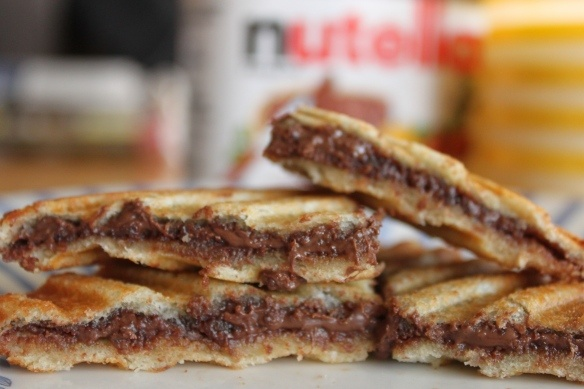 Nutella Panini :) | Food | Pinterest