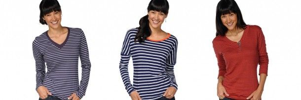 Layer Up With Sustainable Stripes This Fall | Eco-Fashion by Horny Toad | Organic Spa Magazine