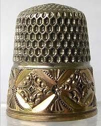 beautiful antique thimble