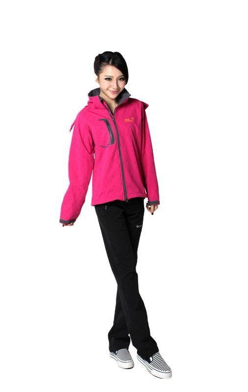 2013 New Style Jack Wolfskin Women Jacket Pink