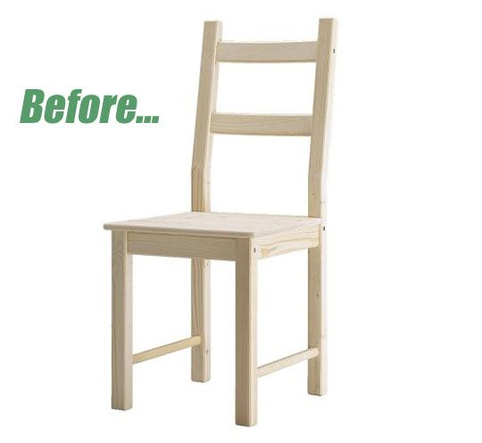 Before & After: Chair Turned Play Kitchen (Believe It.) Kicsi Haz