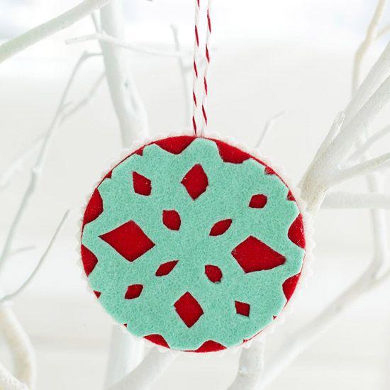christmas ornaments easy felt christmas ornaments socsrc
