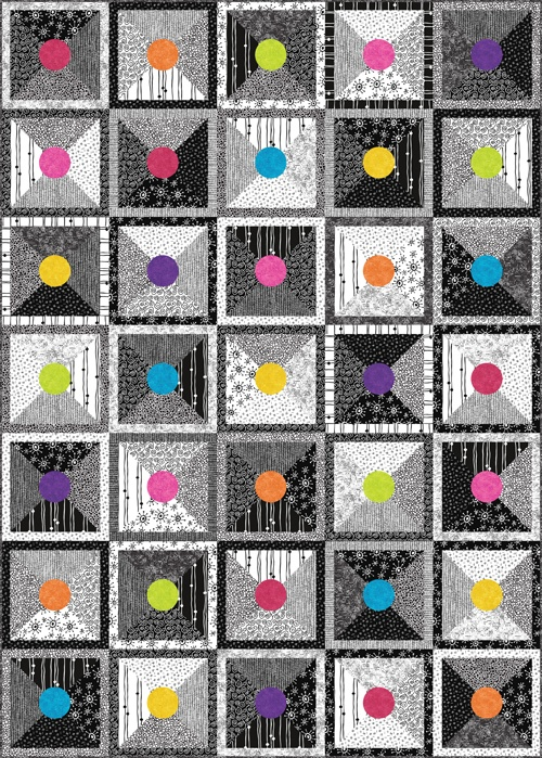 Free Quilt Patterns From Pinterest : Andover Fabrics Free quilt patterns Quilting 3 Pinterest