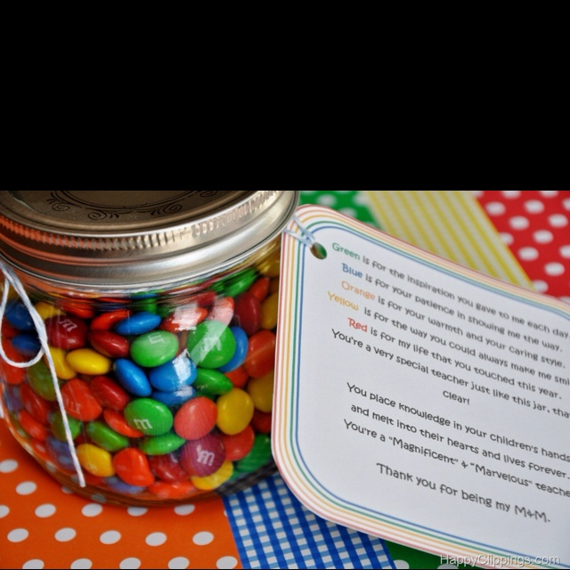 thank you candy poems for teachers | just b.CAUSE