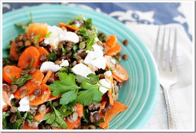 Arugula And Lentil Salad With Goat Cheese Recipes — Dishmaps