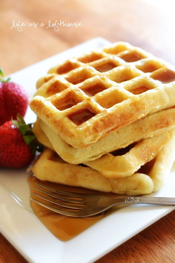 Brown Sugar Bacon Waffles - waffles and bacon - two favorite breakfast ...