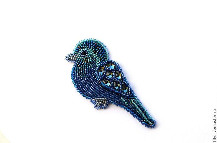 Брошки из бисера схемы птицы