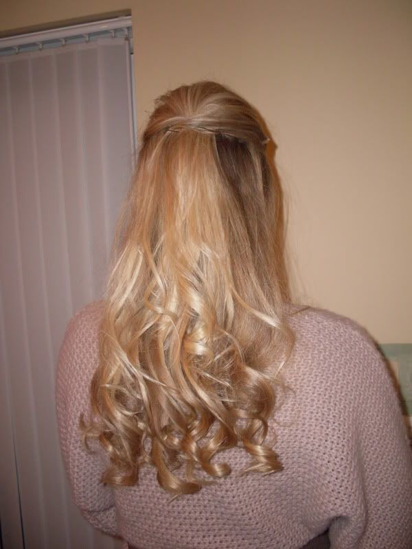 The curled ends look good | Wedding Hair | Pinterest