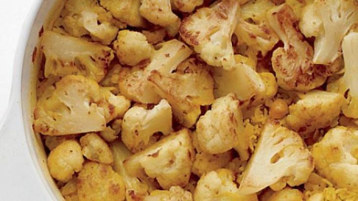 One-Pot Curried Cauliflower Rice | Food! | Pinterest