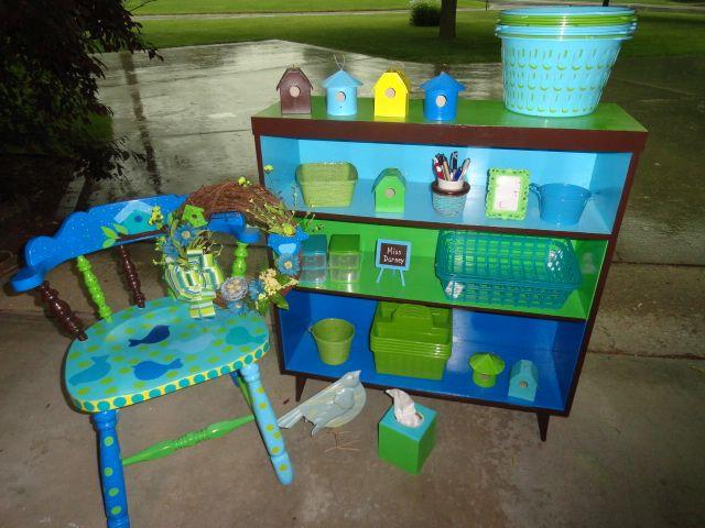 Green Classroom Decor : Blue green classroom decor and