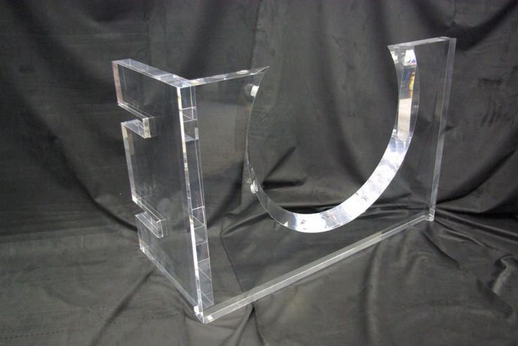 Acrylic Table Base Acrylic Table Leg Lucite Furniture