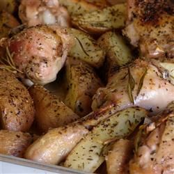 Crispy Rosemary Chicken and Fries photo by nhohmann - Allrecipes.com ...
