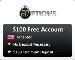 1 minute binary options deposit method trading