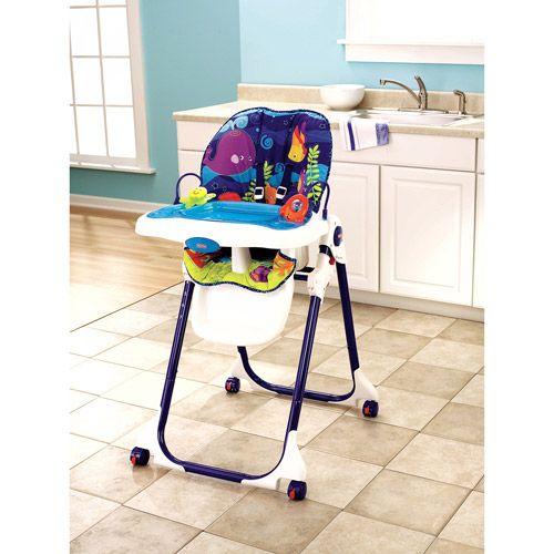 Fisher Price Ocean Wonders Healthy Care High Chair Baby