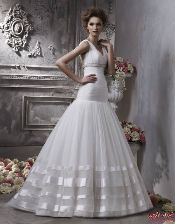 wedding dress love stripes gowns and formalwear
